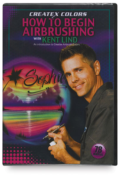 Createx Brand How to Begin Airbrushing DVD