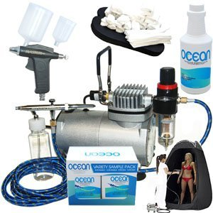 Complete Turbo Tan Pro Airbrush Tanning Kit