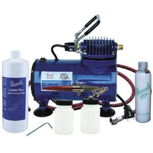 Paasche Home Airbrush Tanning Kit w/solution