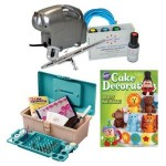 Basic Airbrush Cake Decorating Kit With Caddy and Tools