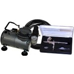 Muliti-Purpose Gravity Feed Dual-Action Airbrush Kit