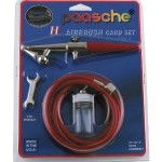 Paasche H-CARD Single Action Airbrush Set